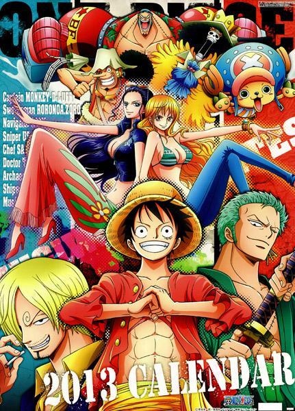 One Piece - Calendario 2013